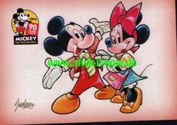 """90 Jahre Micky Maus """"Sticker-Story"""" (2018) - Nr. K36 (Karte)"""