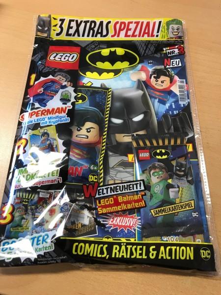 Lego Batman Magazin - Nr. 3 ( mit Lego Figur, Batman Booster und LE3 )