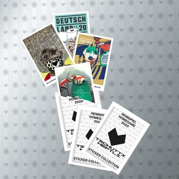 """Tschutti Heftli """"Heimspiel 2020"""" - Stickertüte (10 Sticker)"""