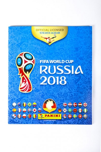 "Panini WM 2018 Russland ""Sticker"" - Stickeralbum"