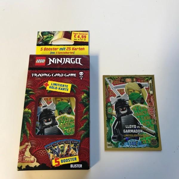 Lego Ninjago Trading Cards - SERIE 6 (2021) - Blister 2 ( LE 25 )