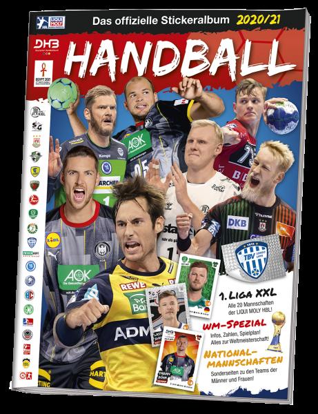 LIQUI MOLY Handball Bundesliga 20/21 - Stickeralbum
