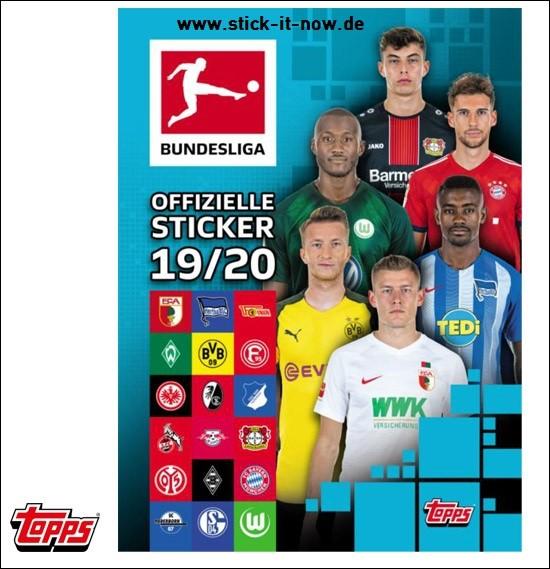 Topps Fussball Bundesliga 2019 20 Sticker 2019 Stickeralbum
