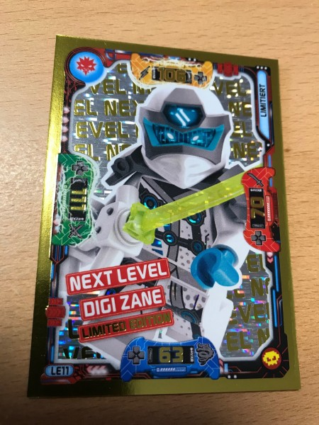 "Lego Ninjago Trading Cards - SERIE 5 ""Next Level"" (2020) - Nr. LE11"