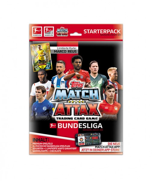 Topps Match Attax Bundesliga 2019 20 Starter Set
