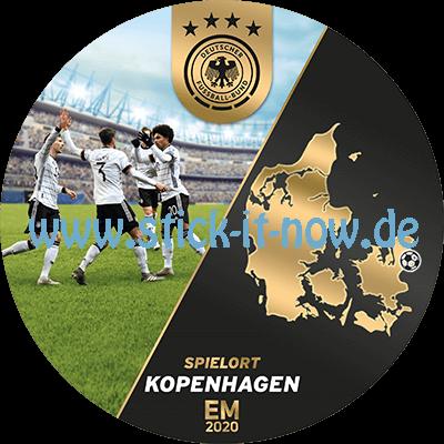 """Ferrero Team Sticker EM 2020 - """"Spielort"""" Nr. 2 (Kopenhagen)"""