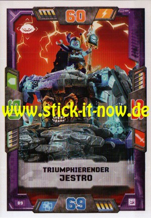 Lego Nexo Knights Trading Cards - Serie 2 (2017) - Nr. 89