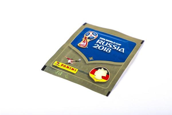 """Panini WM 2018 Russland """"Sticker"""" - Stickertüte (5 Sticker)"""