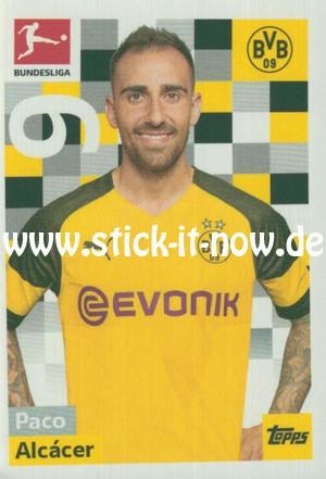 "Topps Fußball Bundesliga 18/19 ""Sticker"" (2019) - Nr. 62"
