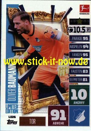 "Topps Match Attax Bundesliga 2020/21 ""Extra"" - Nr. LE 26 (Limitierte Auflage)"