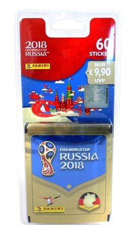 """Panini WM 2018 Russland """"Sticker"""" - Blister (12 Tüten)"""