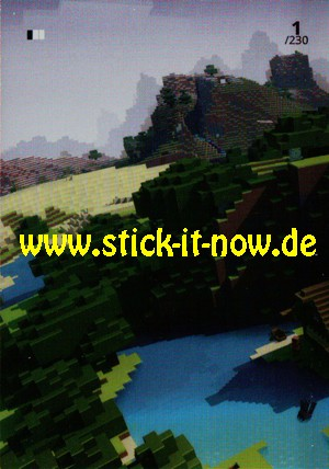 Minecraft Trading Cards (2021) - Nr. 1 (FOIL Card)