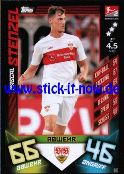 "Topps Match Attax Bundesliga 2019/20 ""Action"" - Nr. 607"