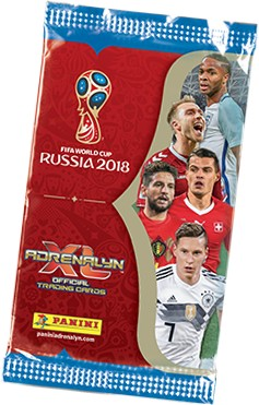 "Adrenalyn XL ""WM Russia 2018"" - Starter-Set ( Kevin de Bruyne )"