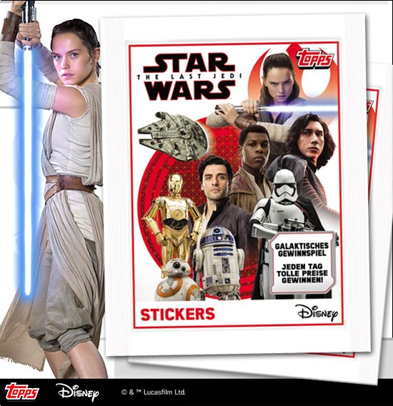 Star Wars - The Last Jedi (2017) - Stickertüte