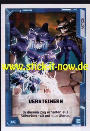 Lego Nexo Knights Trading Cards - Serie 2 (2017) - Nr. 123