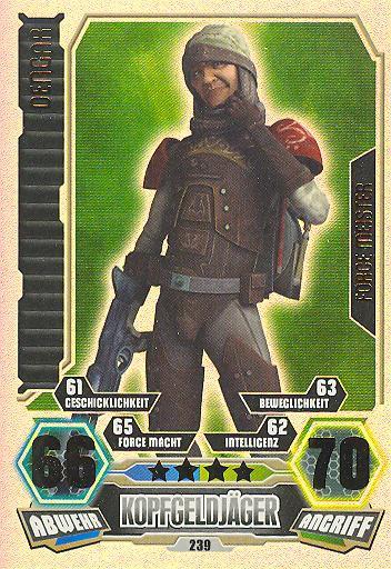 Force Attax - Serie 3 - FORCE-MEISTER - Denger - Nr. 239