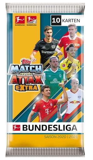 "Topps Match Attax Bundesliga 2020/21 ""Extra"" - Booster"