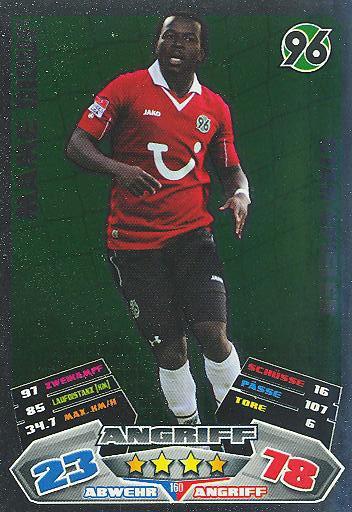 Match Attax 12/13 - Mame Diouf - Hannover 96 - Star-Spieler - Nr. 160