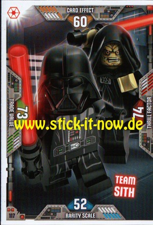 Lego Star Wars Trading Card Collection 2 (2019) - Nr. 117