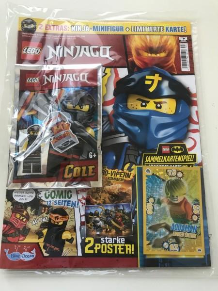 Lego Ninjago Magazin Nr. 53 (mit Lego Figur und LE2 von Batman)