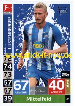Topps Match Attax Bundesliga 18/19 - Nr. 34