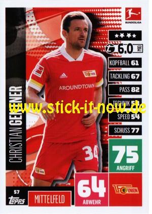 Topps Match Attax Bundesliga 2020/21 - Nr. 57