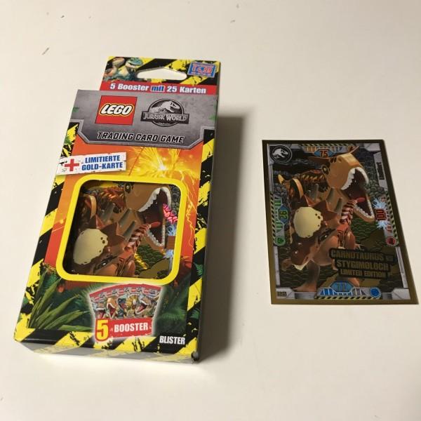 "LEGO ""Jurassic World"" Trading Cards (2021) - Blister 2 (LE 15)"