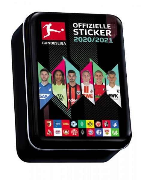 "Topps Fußball Bundesliga 2020/21 ""Sticker"" (2020) - Mini Tin Dose"