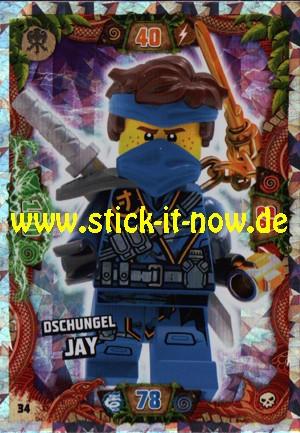 Lego Ninjago Trading Cards - SERIE 6 (2021) - Nr. 34 (Insel-Holofolie)