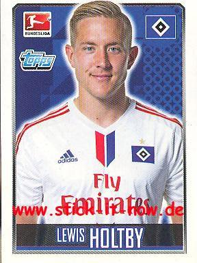 Topps Fußball Bundesliga 14/15 Sticker - Nr. 105