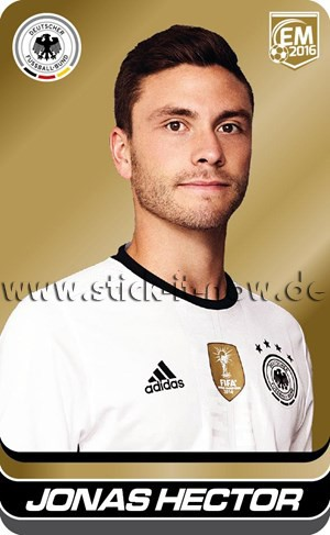 DFB Team Cards EM 2016 - Jonas Hector (GOLD)