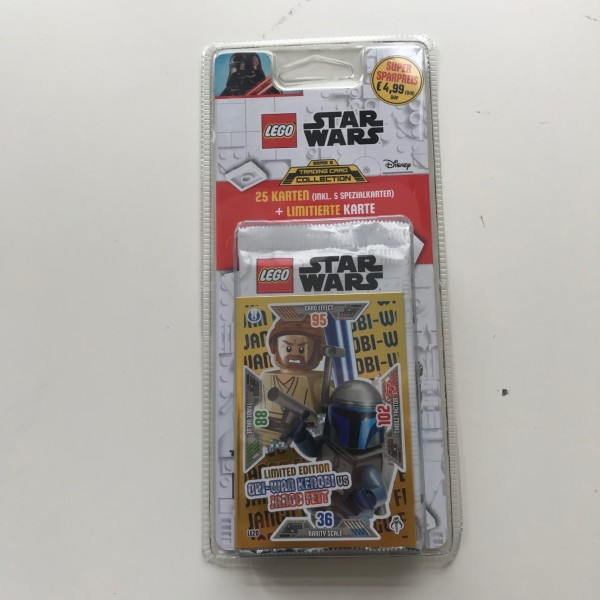 Lego Star Wars Trading Card Collection 2 (2019) - Blister 4 ( LE 20 )
