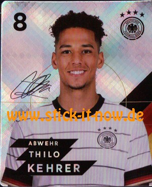 Rewe DFB Sammelkarten EM 2020 - Nr. 8 (Glitzer)
