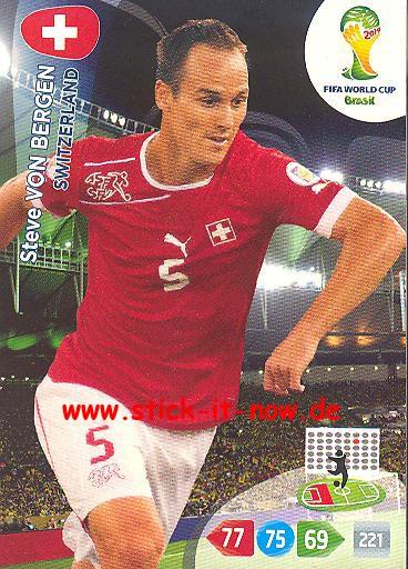 Panini Adrenalyn XL Brasil WM 2014 - Steve VON BERGEN