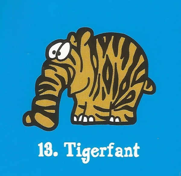 Edeka Ottifanten (2020) - Nr. 13 Tigerfant