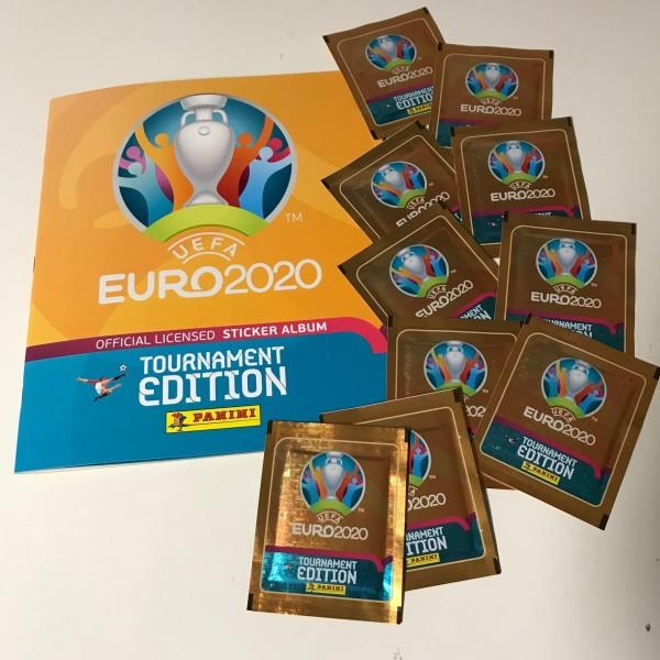 Panini UEFA EM 2020 Tournament Edition (2021) - Starter-Set