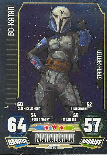 Force Attax - Serie 3 - STAR KARTE - Bo-Katan - Nr. 208