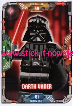 Lego Star Wars Trading Card Collection (2018) - Nr. 74