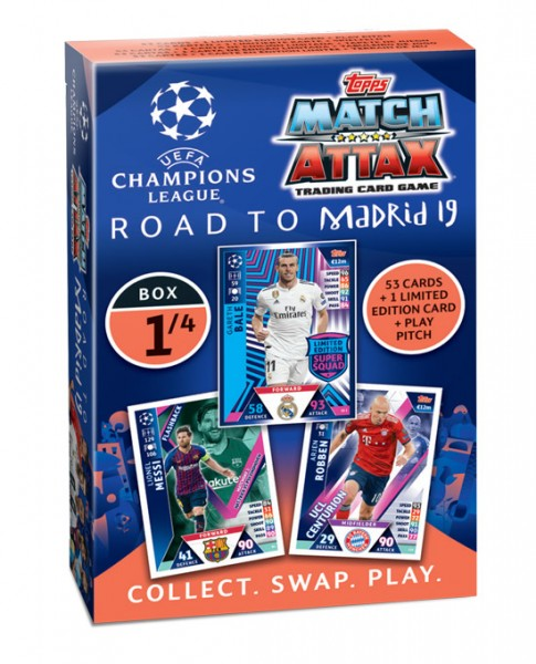 "Match Attax CL 18/19 ""Road to Madrid"" - Deck 1 von 4"