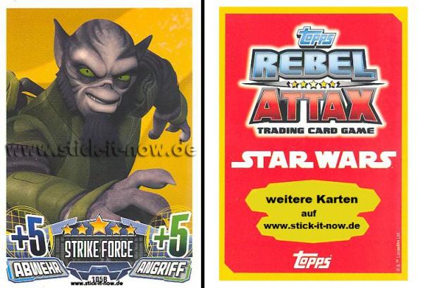 Rebel Attax - Serie 1 (2015) - STRIKE-FORCE - REBELLION 2 - Nr. 105B