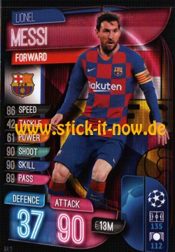 Match Attax Champions League 2019/20 - Nr. BAR 11
