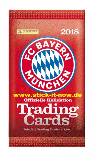 FC BAYERN MÜNCHEN - Trading Cards - 2018 - Booster