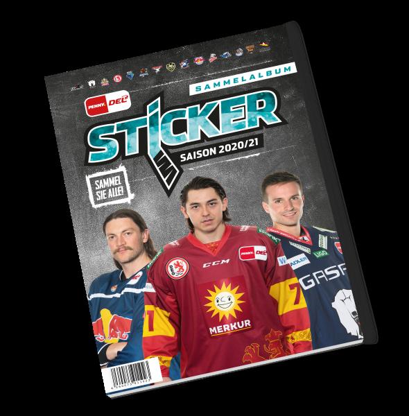 """Penny DEL - Deutsche Eishockey Liga 20/21 """"Sticker"""" - Stickeralbum"""