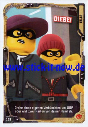 "Lego Ninjago Trading Cards - SERIE 5 ""Next Level"" (2020) - Nr. 109"