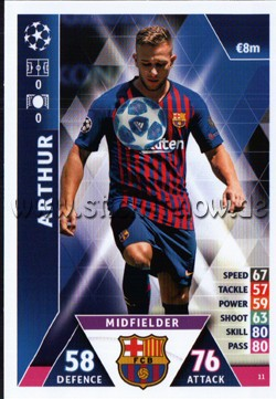 Match Attax Champions League 18/19 - Nr. 11