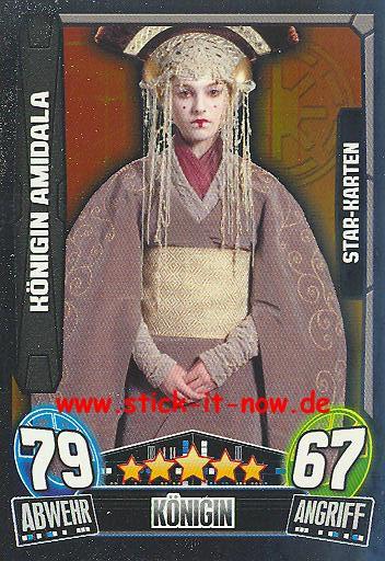 Force Attax Movie Collection - Serie 3 - Star-Karte - KÖNIGIN AMIDALA - Nr. 216