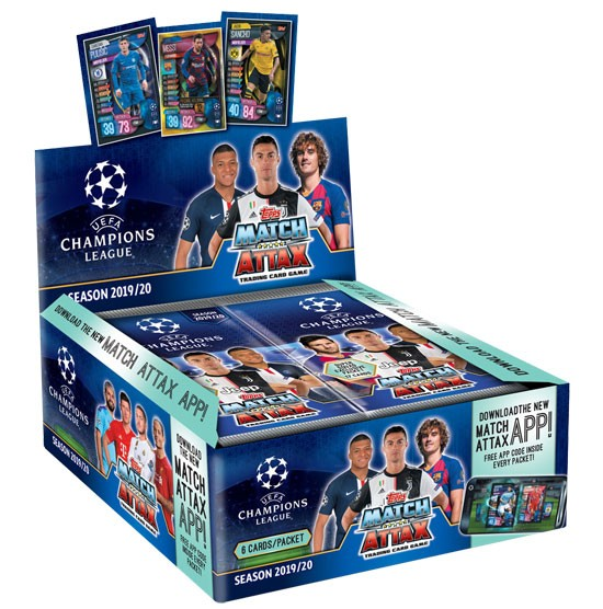 Match Attax Champions League 2019/20 - Display ( 30 Booster )