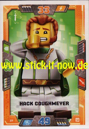 Lego Nexo Knights Trading Cards - Serie 2 (2017) - Nr. 37