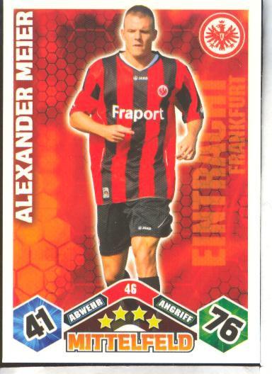 Match Attax 10/11 - ALEXANDER MEIER - 046